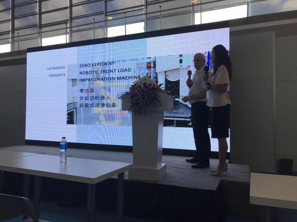 Dr. Cross and Xiaomin Zhang present to the delegates at China Die-Casting Expo 2018