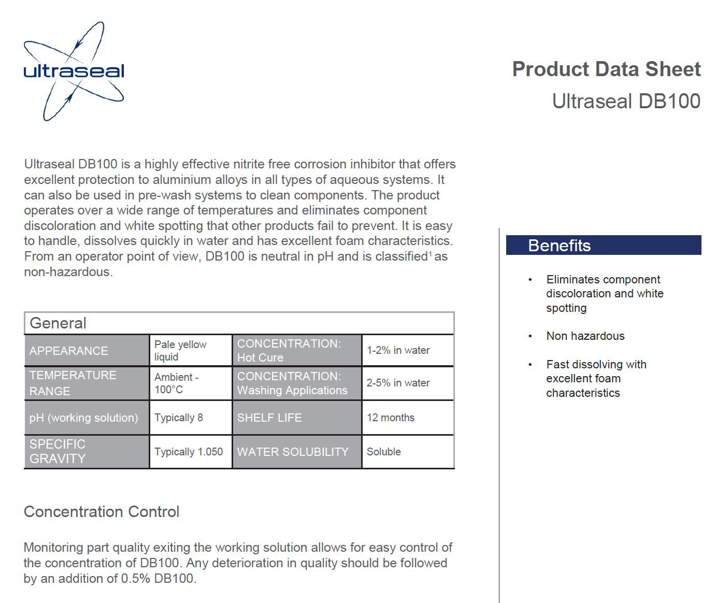 DB100 Data Sheet - whitepaper cover